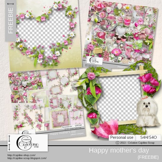 Happy mother's day - freebie