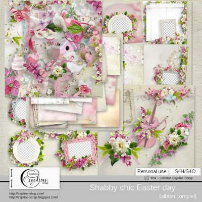 Shabby chic Easter day - complete album