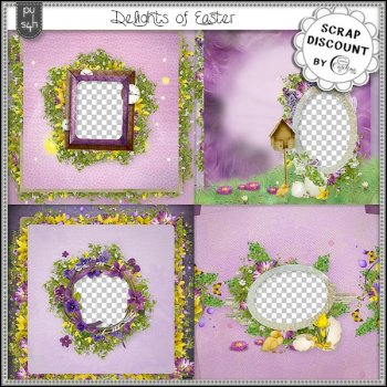 Delights of Easter - pages rapides