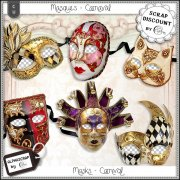 Masques - carnaval 3