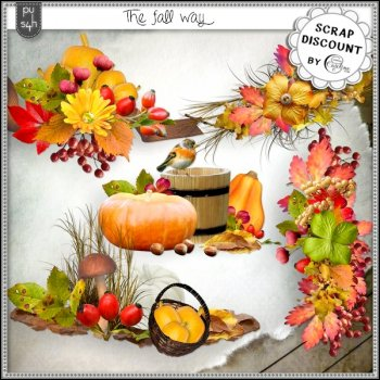 The fall way - embellissements