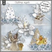 Christmas angels - embellissements