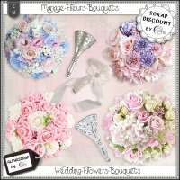 Wedding - Flowers - Bouquets 1