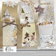 Winter delices - tags