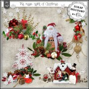 The magic night of Christmas - embellissements