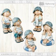 Figurines - Summer - Beach 4