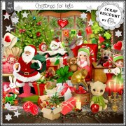 Christmas for kids - cartes postales