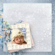A little blue song - embellissements