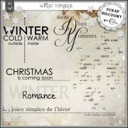 Winter romance - Mots d'art