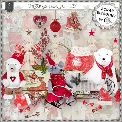 Christmas pack CU - 25