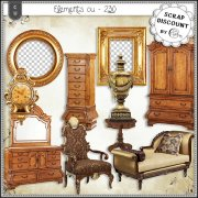 Elements CU - 230 Ameublement baroque et rococo