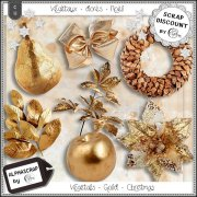 Vegetals - Gold - Christmas - New Year 2