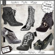 Shoes - Fashion - Vintage 1