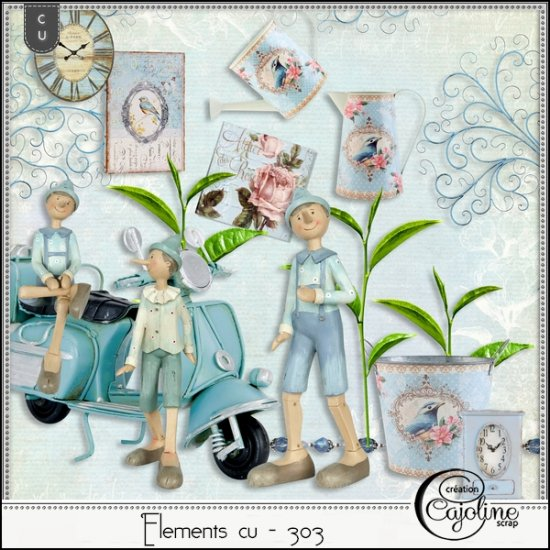 Elements CU - 303 Vintage inspiration