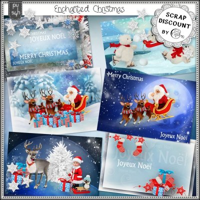 Enchanted Christmas - post cards