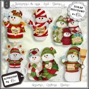 Snowmen - Christmas - Figurines 1