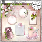 Shabby-chic treasures - étiquettes