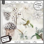 Vegetals - Christmas - White