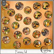 Fantasy fall - boutons