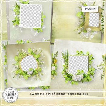Sweet melody of spring - pages rapides