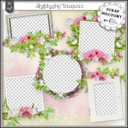 Shabby-chic treasures - clusters