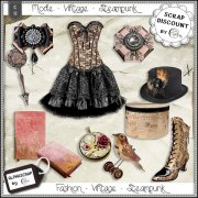 Fashion - Accessories - Vintage - Steampunk 9