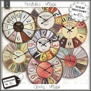 Wallclocks - Vintage 2
