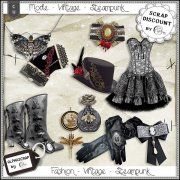 Fashion - Accessories - Vintage - Steampunk 6