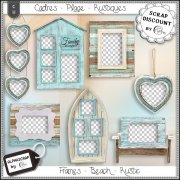 Frames - Beach - Sea - Summer - Distressed 10