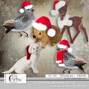 Christmas animals CU - 1
