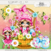 Elements cu - 421 Easter basket