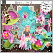 Elements CU - 318 Fairy garden inspiration