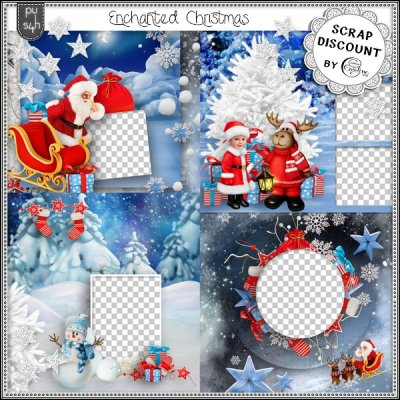 Enchanted Christmas - pages rapides