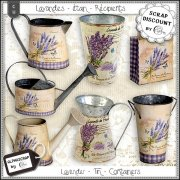 Lavender - Containers - Tin