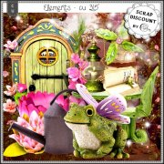Elements CU - 315 Fairy garden inspiration