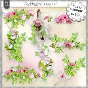 Shabby-chic treasures - embellissements