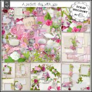 A perfect day with you - papiers décorés