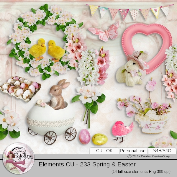 Elements CU - 233 Paques et printemps