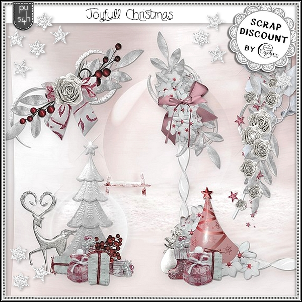 Joyfull Christmas - embellissements