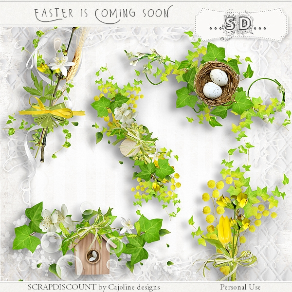 Easter is coming soon - embellissements