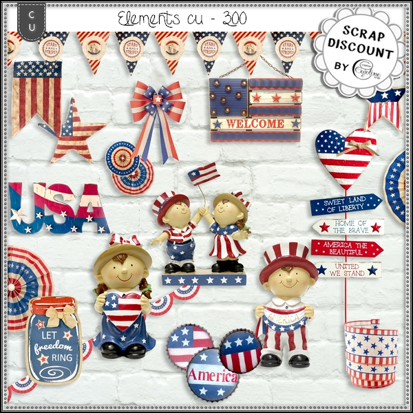 Elements CU - 300 Patriotic inspiration