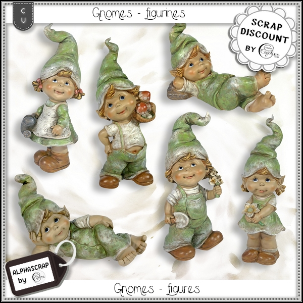 Figurines - Gnomes 1