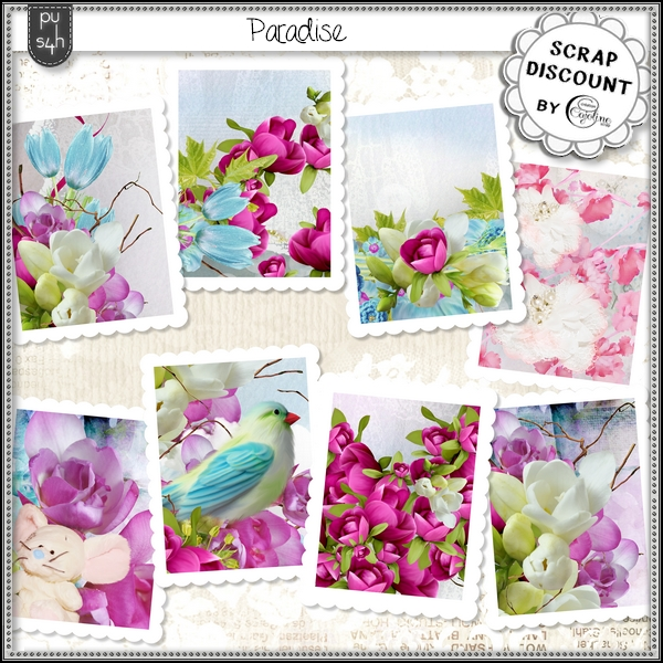 Paradise - stamps