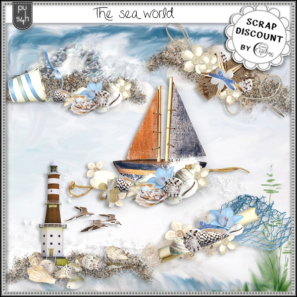 The sea world - embellissements