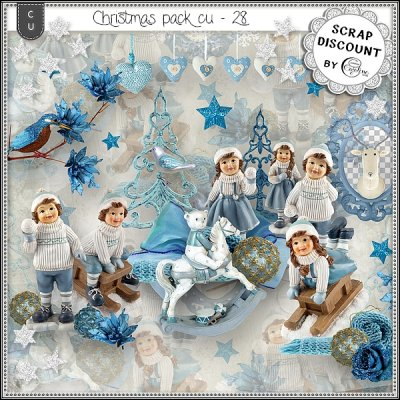 Christmas pack CU - 28