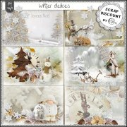 Winter delices - cartes postales