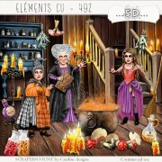 Elements cu - 492 La nuit d'Halloween 4