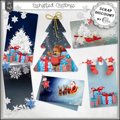 Enchanted Christmas - Tags