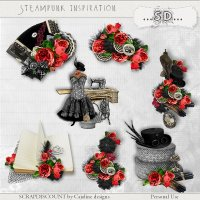 Steampunk inspiration - embellishments