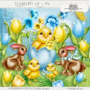 Elements cu- 416 Easter elements